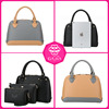 2015 Hot Sale High Quality Wholesale 3 PCS in 1 Lady Handbag