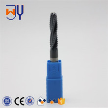 DUBIAN Solid Carbide Coated Round Nose End Milling Cutter/CNC Lathe Cutting Tool Corner Radius Cutter/rough end mill