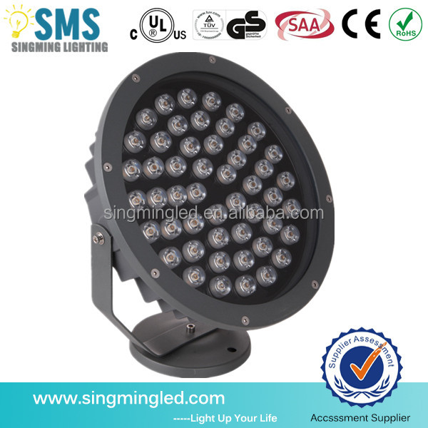 Best seller 4800 lumens led floodlight rgb waterproof outdoot lighting