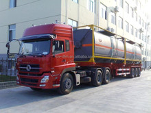 2015 brand new Dongfeng 3 axles CNG semi-trialer