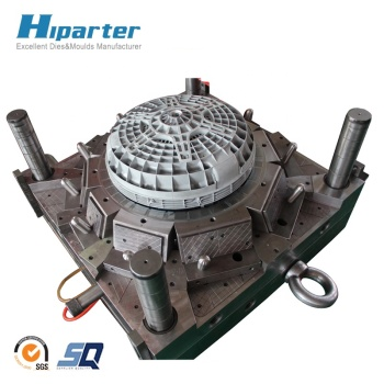 Household washing machine drum plastic part and plastic injection mould