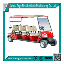 Chinese cruiser electric golf buggy with 6 seats