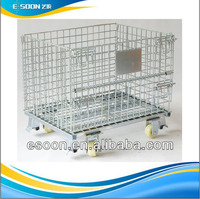 collapsible cage pallet for Trolleys