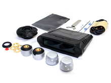 Wireless External Tire Pressure Monitor System TPMS with 4 Sensors & LCD Display & Solar Power