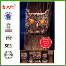 Motion Activated Halloween Lighted Spooky Tree Eyes