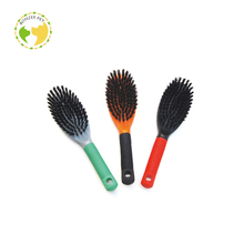 New Promotion Oval Slicker For Your Design Dog Brushes Self Cleaning Pet Brush