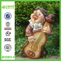 Hot Polystone Large Gnome Statue for Garden