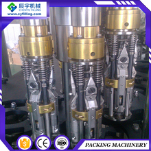Lower Price and ping glass bottle pilfer proof cap filling machine