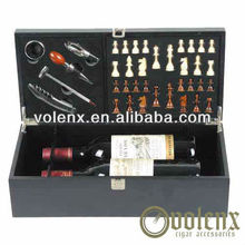 Shenzhen Decoration Wooden Wine Black Shipping Boxes