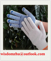 Best Gloves Work Use PVC Dotted Gloves