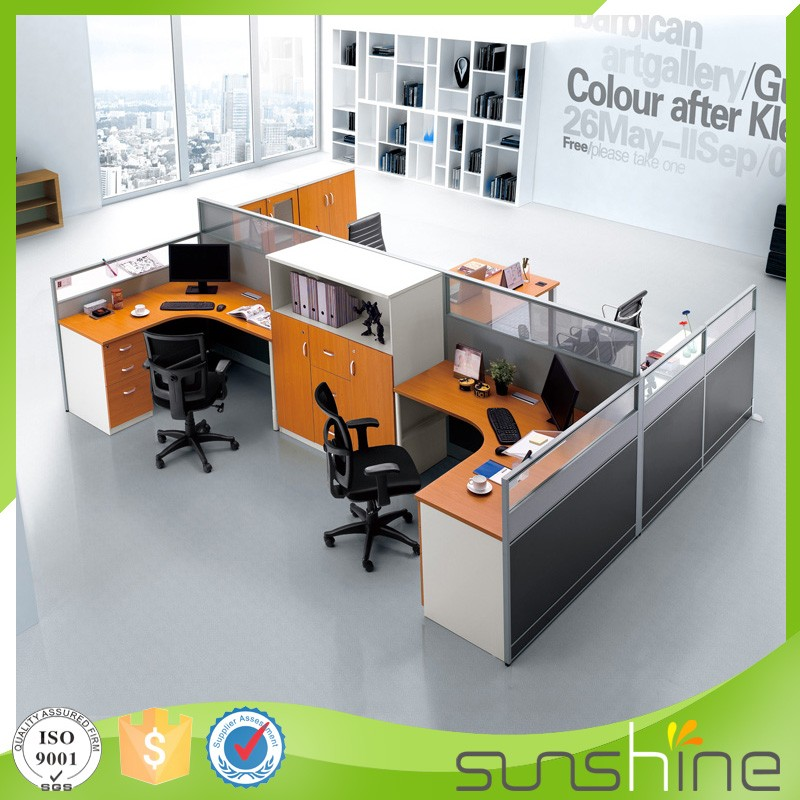 Ht pw36 Modern American Style Office Furniture Modular Design Cubicle Partition Space