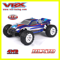 4x4 electric car 1/10 truck, china toy factory vrx racing