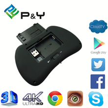 2017 Good price of H9 air mouse for Android TV bt MX3 supports IR Learning with CE&ISO Wireless remote controll