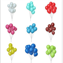 Promotional Naturer Eco-friendly Materia 12inch Solid color Custom logo Printed latex Balloons