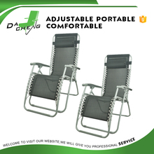 Folding reclining camping chair