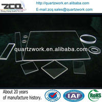 High Quality Quartz Perforated Sheet Clear