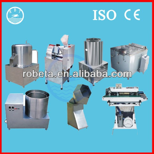Best Selling frozen french fries production line