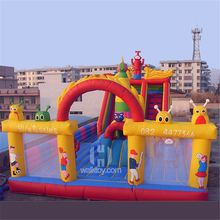 Happy island hot sale style giant inflatable amusement park for kids customized style and size