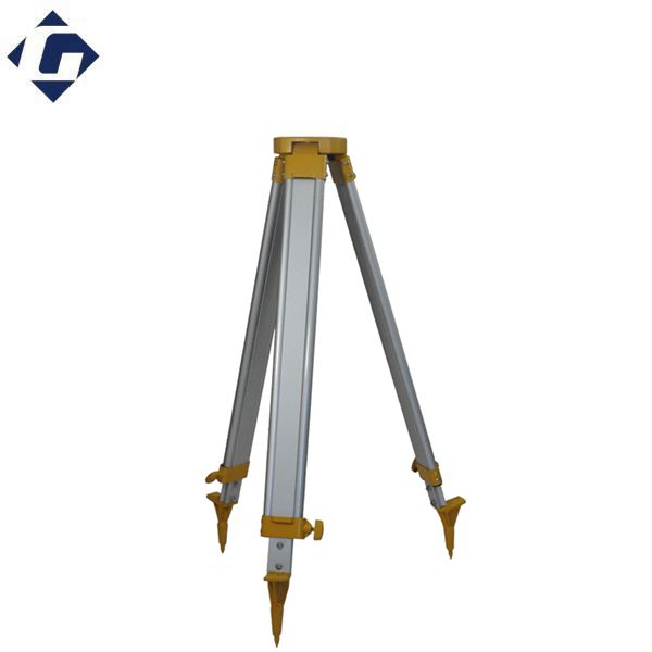 heavy duty aluminum tripod for total station