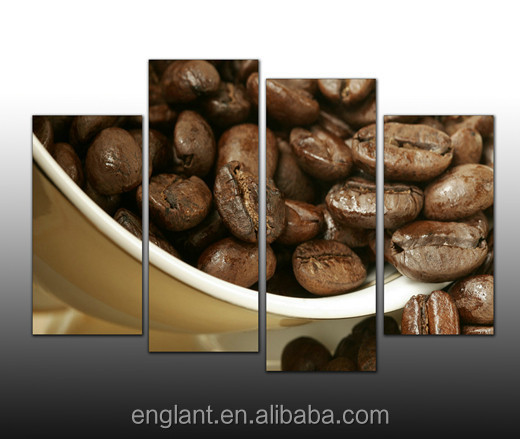 decorative wall hanging pictures bulk photography printing coffee wall decor