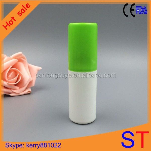 2014 HDPE recycled Empty plastic spray perfume bottle