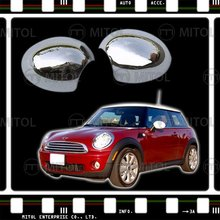 For Mini Cooper 07-ON Chrome Door Mirror Cover