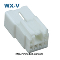 cheap car electrical terminals parts 6 way pa66 auto male connector DJ7062Y-2.2-11