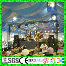 Indian Wedding Tent Stage Decoration