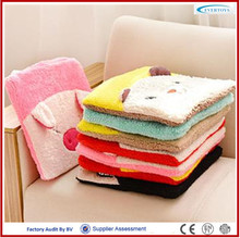chair cushion disposable pillow case blanket that folds into pillow
