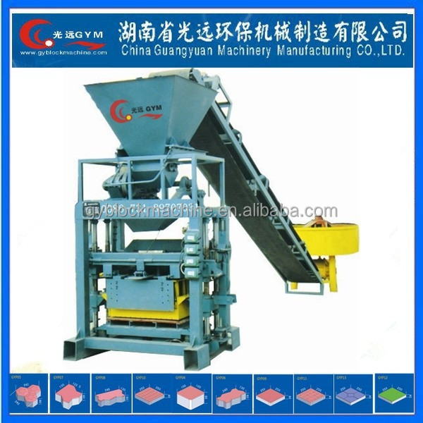 Foam Concrete Light Weight curb&paving stone forming machine