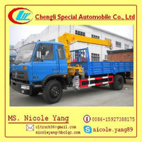 5Ton used crane truck Lorry