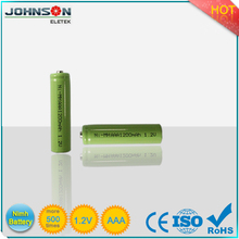 ni-mh rechargeable battery aaa 1.2v 1000mah for export