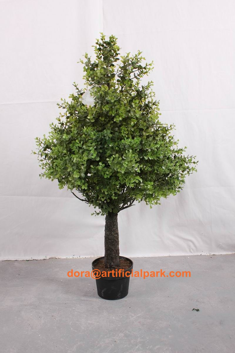 hot sale SJA1340 Artificial plant bonsai fake yacca/ pine and money tree