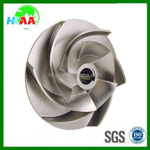 OEM service custom made cast iron water pump impeller