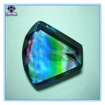 The 8x26x32mm Lively colorful Bridge-shaped cz