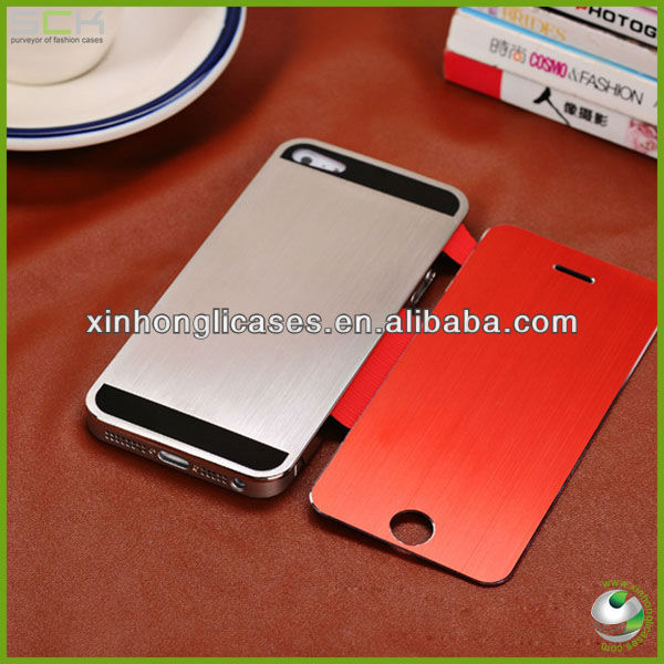 High quality metal slim case cover for iphone 5/ 4, for iphone5 /4 high quality case