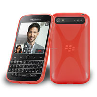 Luxury Hotselling Soft X Line Case For Blackberry Classic X