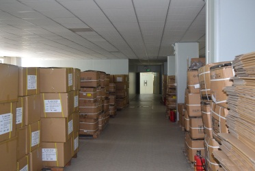 Packing into warehouse
