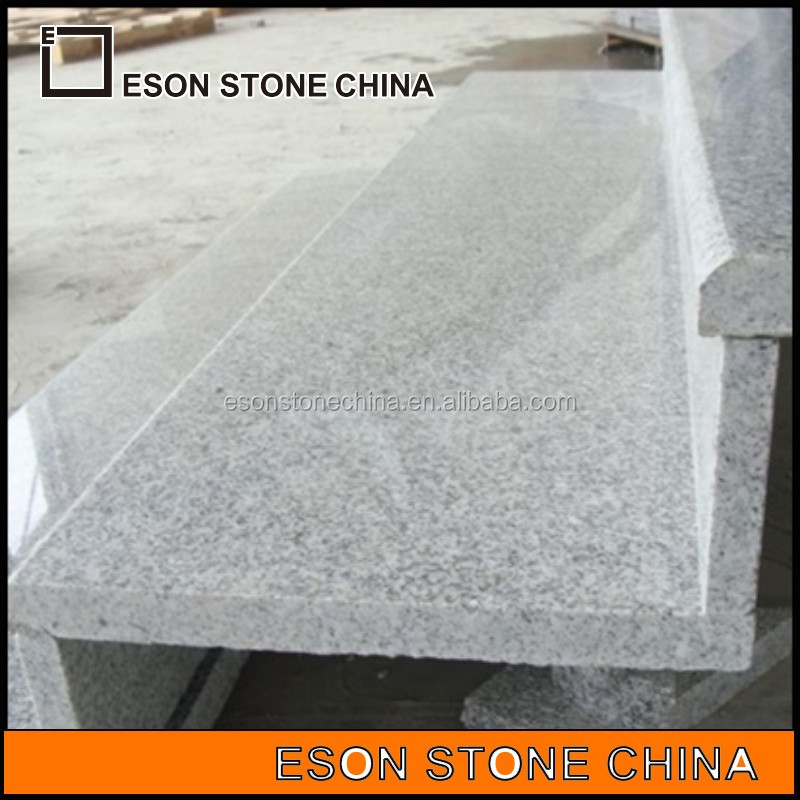 Eson Stone grey granite g603 stairs, polished step, riser, tiles, for outdoor and indoor