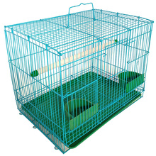 high quality pet parrot flight metal bird cage suppliers export