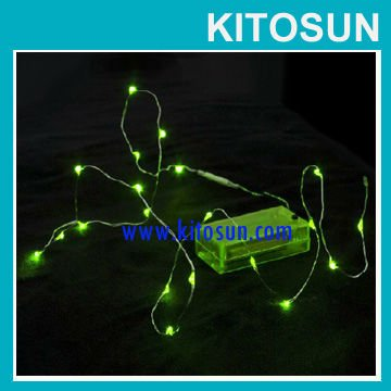 New!Latest technology Unique Superior quality colorful battery operated Micro LED string light / wedding & party light