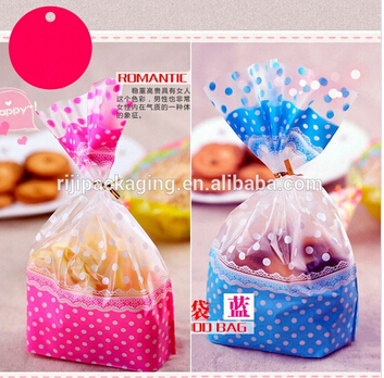high quality beautiful plastic bags for bread and cake