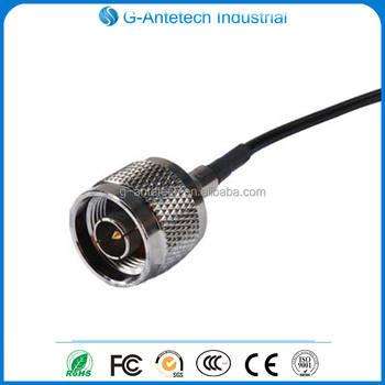 pigtails TS9 connector to N male RF cable assemblies