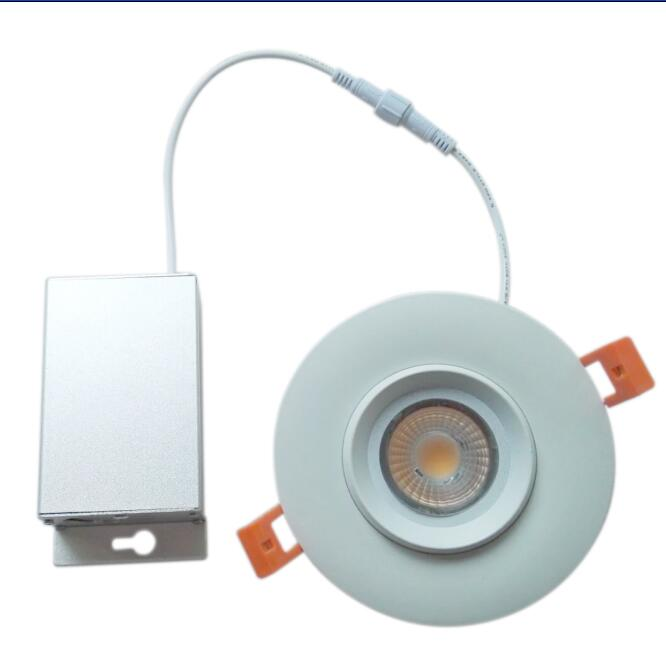 4 inch gimbal cob dimmable 12w 120v 230v led downlights