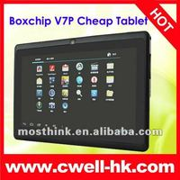 7'' 5 point capacitive 512MB 4GB allwinner a13 q88 tablet