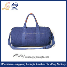 Alibaba Cylinder Shape Sports Bag Travel Duffle Bag Manufacturer