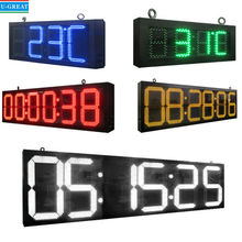 High Quality RF Remote Control Large Digital LED Countdown Timer