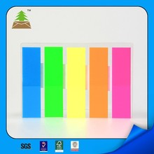 colorful PET page marker,adhesive sticky note in shenzhen