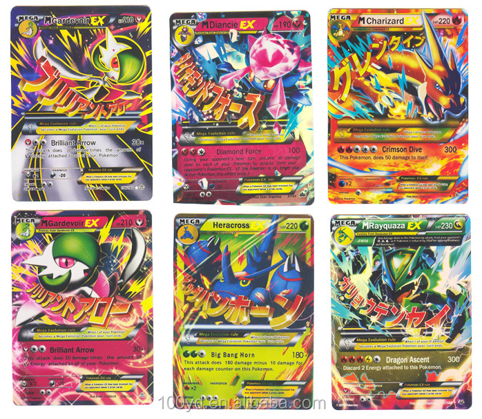 Hot Wholesale New Arrival Without Repeat Pokemon Cards For Games