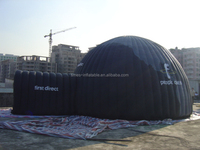 Good quality unique led inflatable dome tent